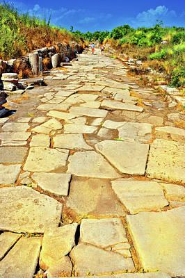 Road Of Yellow Bricks. Original