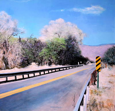 Painting - Road Over The Wash by M Diane Bonaparte