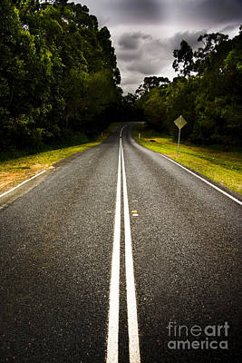 Asphalt Photograph - Road by Jorgo Photography - Wall Art Gallery