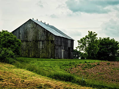 Digital Art - Roadside Barn In Ky by Elijah Knight