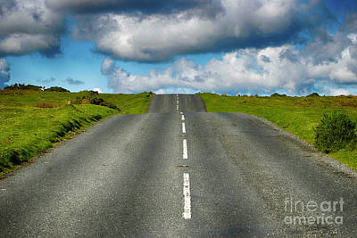 Photograph - Road Through English Countryside by Toula Mavridou-Messer