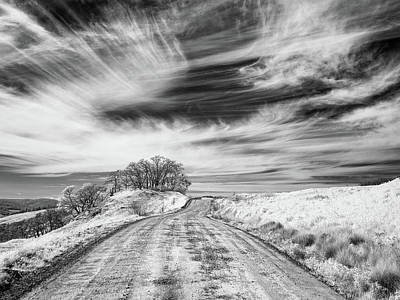 Photograph - Road Through Hills by Greg Nyquist