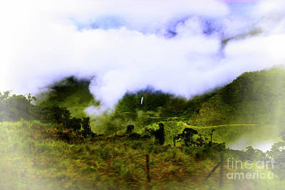 Photograph - Road Through The Andes by Al Bourassa