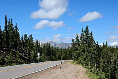 Photograph - Road Through The Rockies by Denise Mazzocco