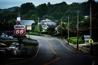 Photograph - Road Through Town by Greg Mimbs