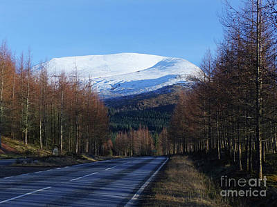 Photograph - Road To Aonach Mor  by Phil Banks