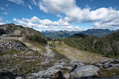 Photograph - Road To Artist Point by Tom Cochran
