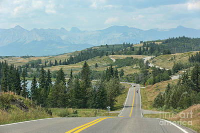 Photograph - Road To Banff by Carol Groenen