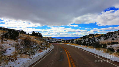 Photograph - Road To Blue Skys by Robert WK Clark