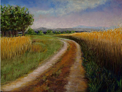 Painting - Road To Blueridge by Susan Jenkins