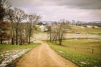 Photograph - Road To Casper Bluffs by Joni Eskridge