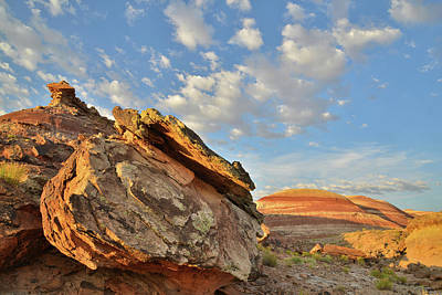 Photograph - Road To Cathedral Valley by Ray Mathis
