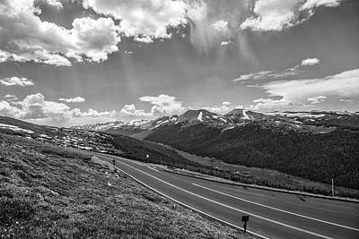 Photograph - Road To Continental Divide by John McGraw