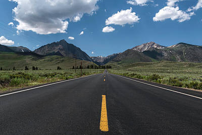 Photograph - Road To Convict Lake by Scott Cunningham