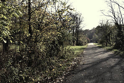 Photograph - Road To Covered Bridge by Joanne Coyle