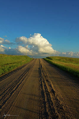Road To Cumulus Art Print