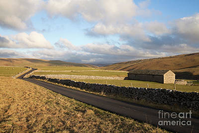 Photograph - Road To Darnbrook House by Gavin Dronfield