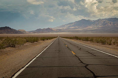Photograph - Road To Death Valley by Ricky Barnard