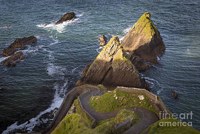 Photograph - Road To Dunquin Harbor by Brian Jannsen