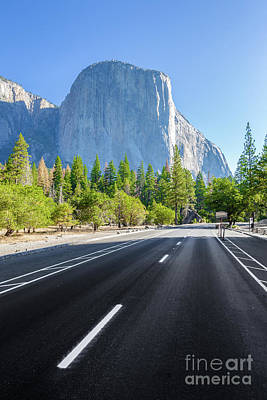 Photograph - Road To El Capitan by JR Photography