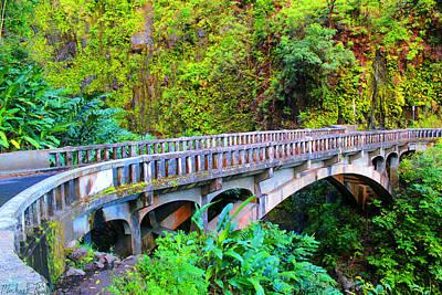 Road To Hana Bridge Original
