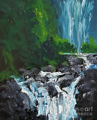Painting - Road To Hana by Fred Wilson