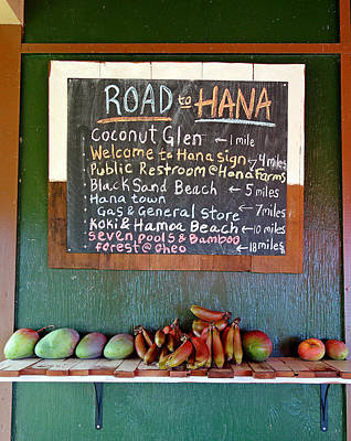 Photograph - Road To Hana Study 01 by Robert Meyers-Lussier