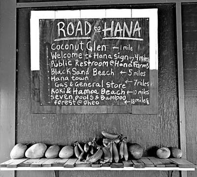 Photograph - Road To Hana Study 02 by Robert Meyers-Lussier