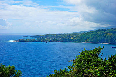 Photograph - Road To Hana Study 10 by Robert Meyers-Lussier