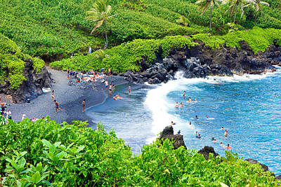 Photograph - Road To Hana Study 16 by Robert Meyers-Lussier