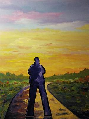 Painting - Road To Heaven by Ray Khalife