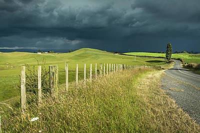 Photograph - Matamata Countryside by Racheal Christian