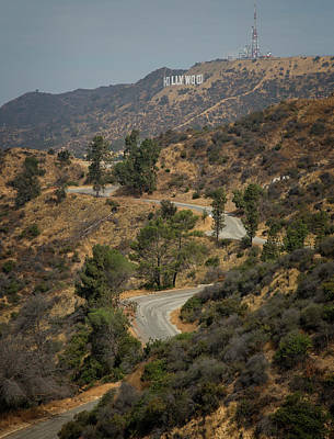 Photograph - Road To Hollywood by Ricky Barnard