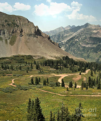 Photograph - Road To Kennebec Pass by William Schlabach