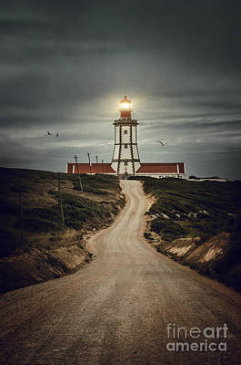 Photograph - Road To Lighthouse by Carlos Caetano