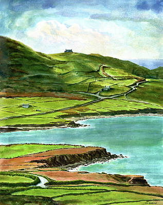 Irish Painting - Road To Limerick by Tom Hedderich