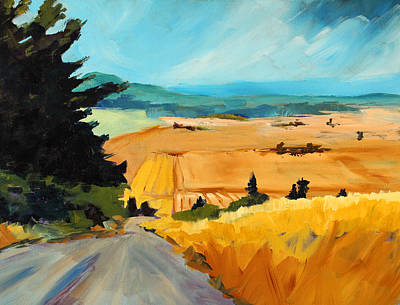 Painting - Road To Madras by Nancy Merkle