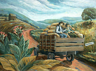 Painting - Road To Maysville by Paula Blasius McHugh