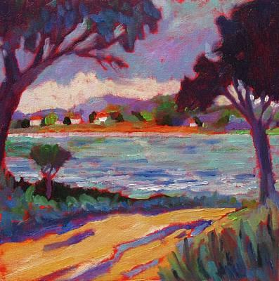 Road To Mediterranean Art Print by Laurelle Cidoncha