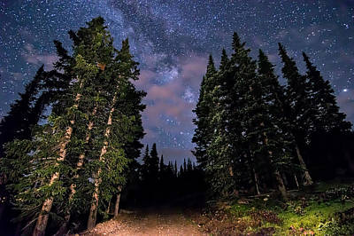 Photograph - Road To Milky Way by Michael J Bauer