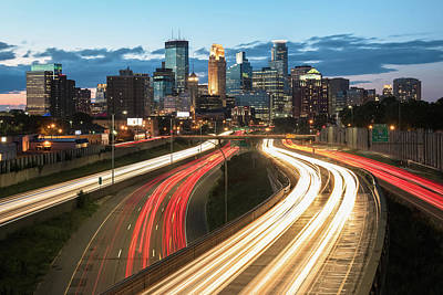 Photograph - Road To Minneapolis by Ryan Heffron