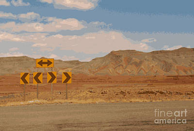 Photograph - Road To Moab by Ray Hunt