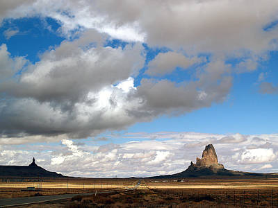 Photograph - Road To Monument Valley 5 by Jeff Brunton