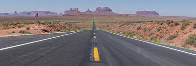Photograph - Road To Monument Valley Color  by John McGraw