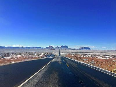 Photograph - Road To Monument Valley  by Heidi Moss