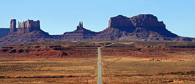 Photograph - Road To Monument Valley by Pierre Leclerc Photography