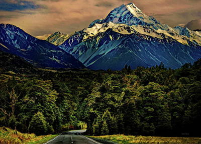 Photograph - Road To Mount Hood by Russ Harris