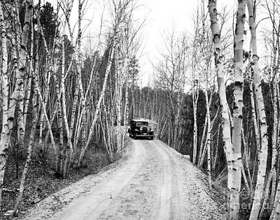 Photograph - Road To Mount Rushmore, Keystone, South Dakota by American School