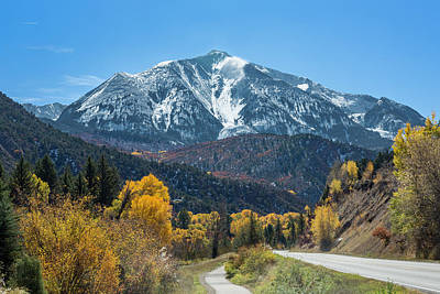 Photograph - Road To Mount Sopris by Jemmy Archer