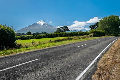 Photograph - Road To Mount Taranaki by Martin Capek